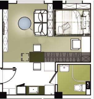 床+沙发+书架+书桌+茶几+电视柜+衣柜