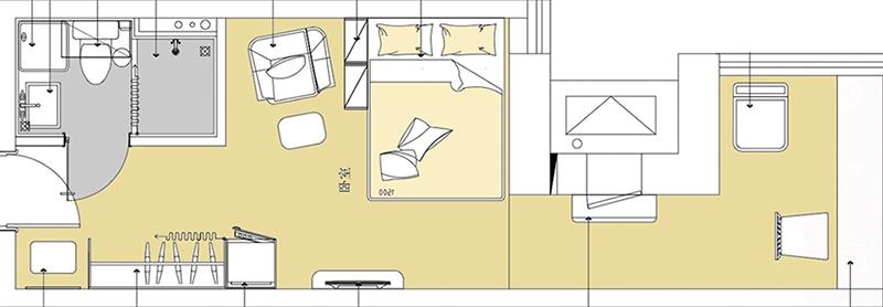 床+沙发+餐桌+茶几+整体橱柜+电视柜+衣柜
