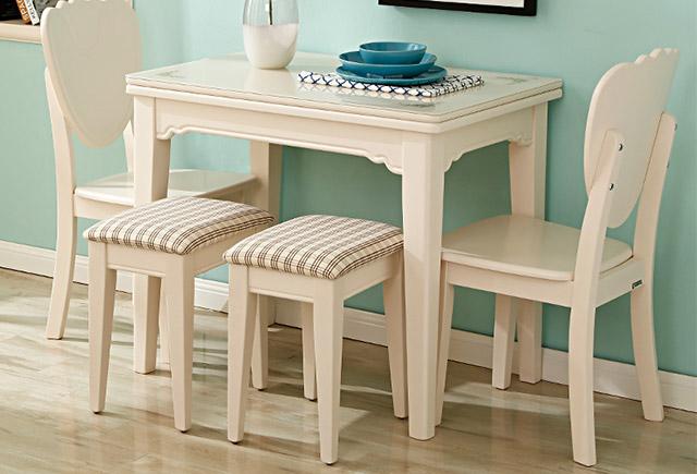 两人餐桌-欧式双人餐桌-简约双人餐桌