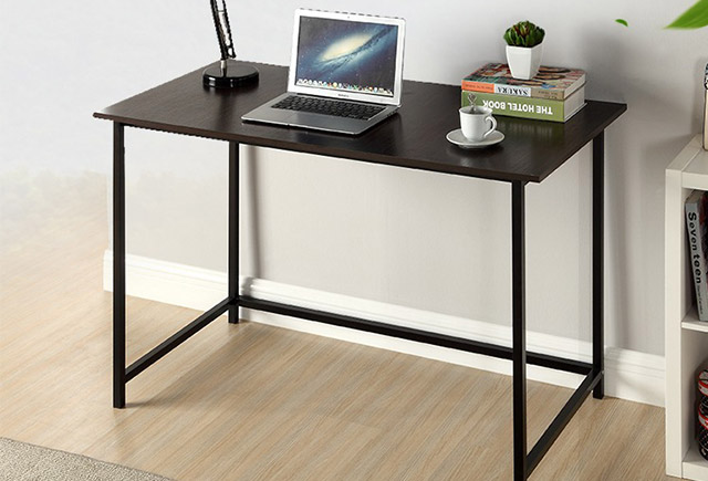 简约钢架桌子-书桌钢架-书桌钢架图片