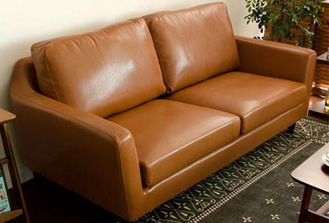 皮质双人沙发-两人真皮沙发-双人真皮沙