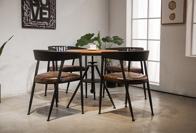 工业风咖啡厅桌椅-定制工业风咖啡厅桌椅