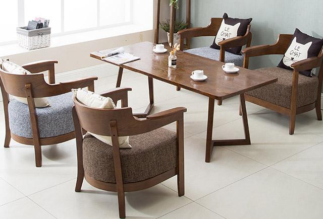 休闲桌椅-休闲咖啡厅桌椅-定制咖啡桌椅