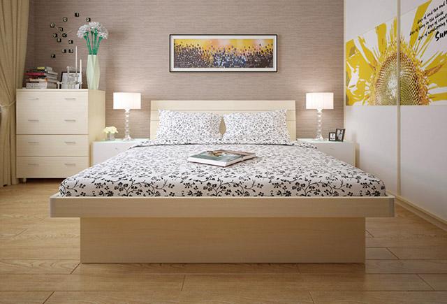 木质单人床