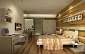 上海宝山区公寓更衣柜设计