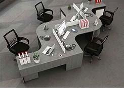 公司蜂巢办公桌