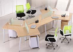 办公桌5人位