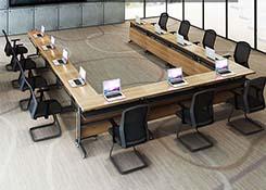 可移动拼接会议桌