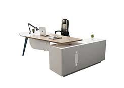 白色经理办公桌