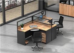 双人位办公屏风桌