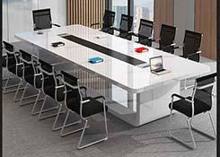 �L方形型油漆���h桌