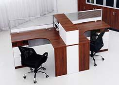 职员办公桌置物架