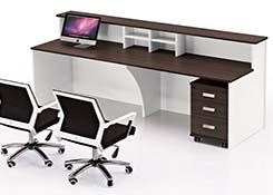 前台双人位办公桌