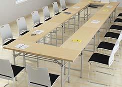 折叠条形桌子
