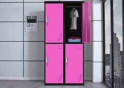 彩色铁皮更衣柜