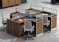 6人位屏风办公桌