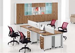 办公桌4人位
