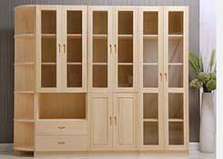 总经理实木文件柜