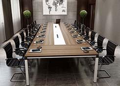 会议桌带话筒