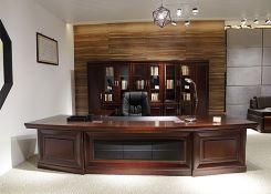 董事长室,总裁室,总经理室办公室家具设计配套方案