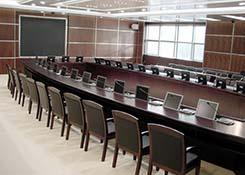 多功能会议室办公家具设计配套方案