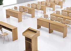 讲课式报告厅会议桌