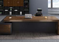 实木油漆老板桌