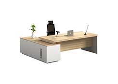 现代简约老板办公桌