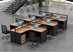 六人开放式办公桌