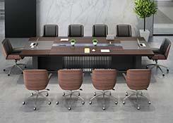 板式会议桌椅组合