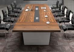 实木贴皮会议桌