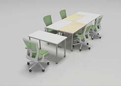 �L方形拼接���h桌