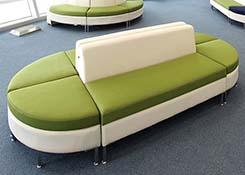办公室拼接式沙发