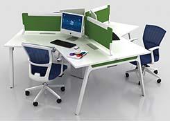 三人办公桌尺寸