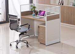 单人屏风办公桌