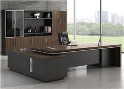 实木老板桌