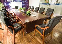 橡木会议椅