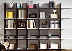 阅览室板式书柜