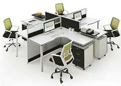 办公室四人位