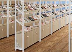 图书室书架