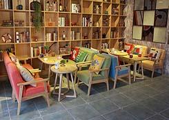 书店休闲桌椅定制
