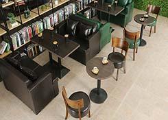 书吧组合沙发定制