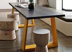 阅览桌木桌定制