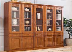 办公室实木文件柜