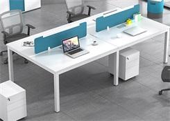 六人位办公位屏风设计