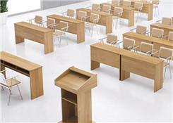 课桌式会议培训桌