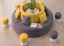 异型转角沙发