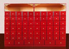 木制药品柜