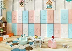 幼儿园墙软包