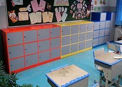 幼儿园格子柜
